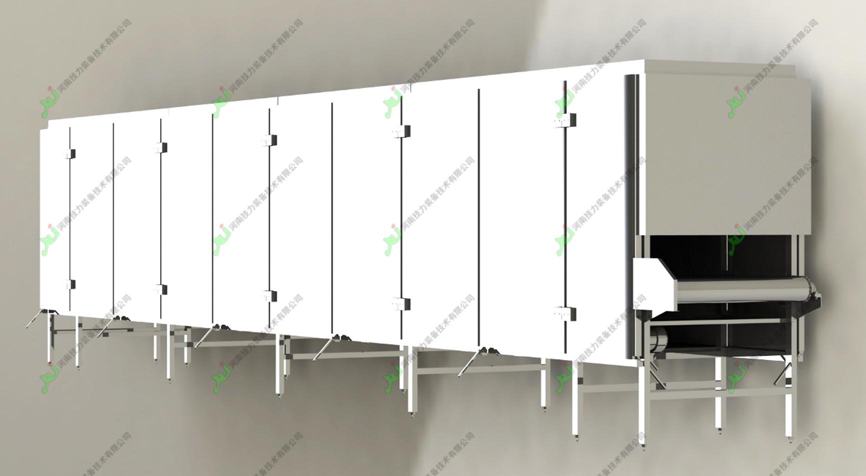 多层网带式气流干燥机